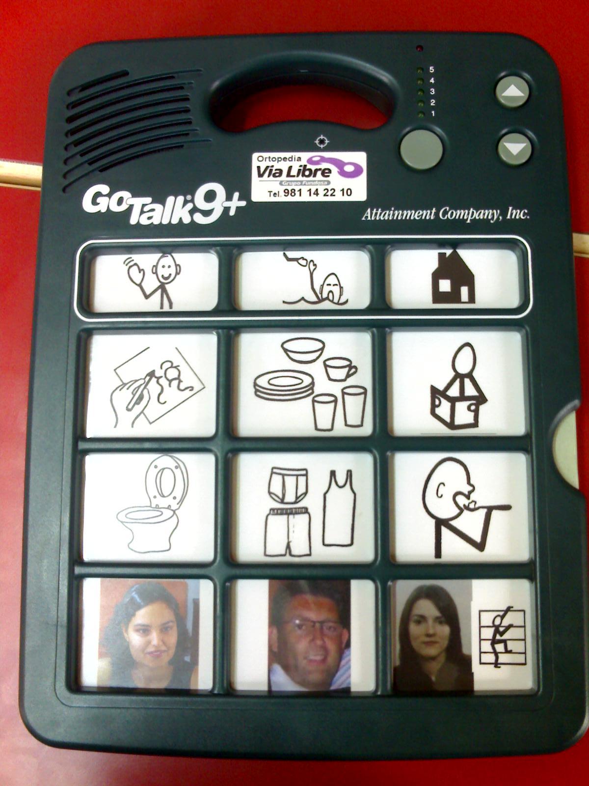 1ª Imaxe do obradoiro 'GoTalk'