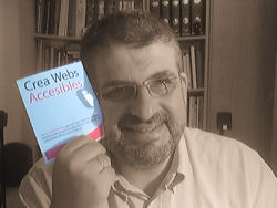 A foto que mandei para a campaña 'Crea webs accesibles'.
