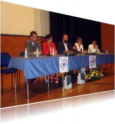 Foto dunha das reunións do colectivo 'Adiante Xa'.