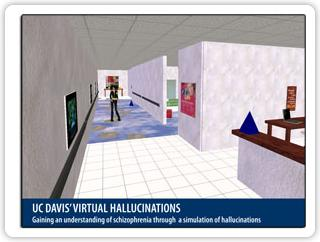 Alucinacións en 'Second Life'.