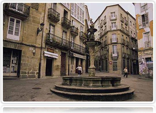 Ourense casco antigo