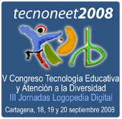 Logotipo do Congreso 'TecnoNEEt 2008′.