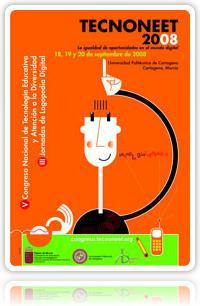 Cartel do congreso Tecnoneet 2008.