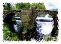 Ponte romana que dá orixe ao nome do proxecto.