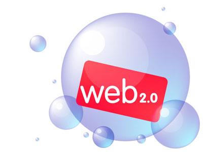 Posible representación gráfica da 'web 2.0'.