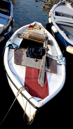 Alegoría da navegación coa foto dunha barca.