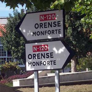 Ironías da vida. Ourense, terra redonda.