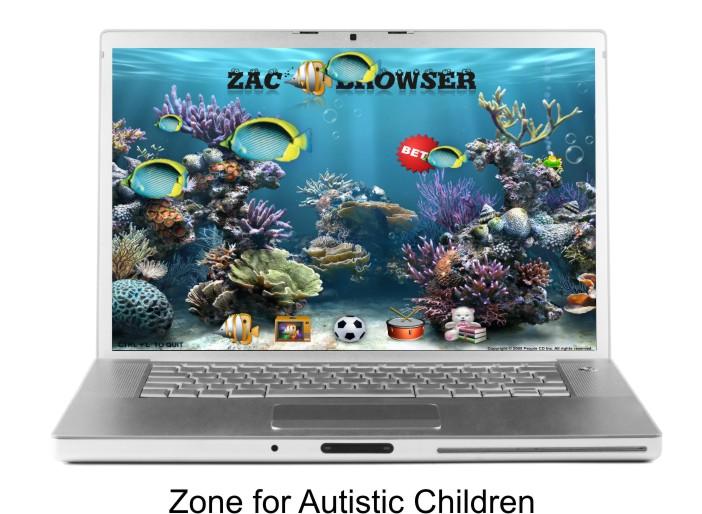 Imaxe do escritorio do navegador Zac.