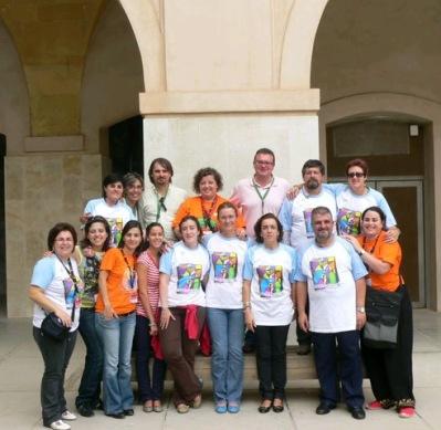 foto grupo tadega no tecnoneet 2008