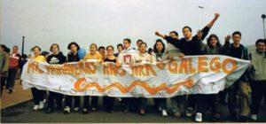 O Correlingua. (A Coruña, maio 2001). Foto de Xulio Cuba.