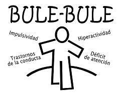 Logotipo e imaxe da asociación Bule Bule