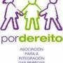 Logotipo de asociación: Por Dereito.