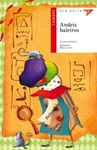 """Libro: """"Andeis baleiros"""" de Susana Lamela."""