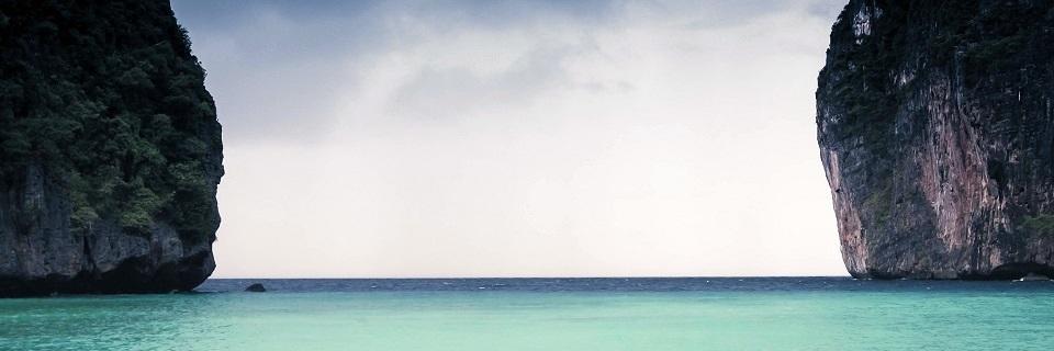 Alegoría de horizontes e fronteiras.