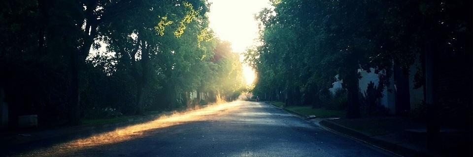 Alegoría do camiño, o paso e a terra.