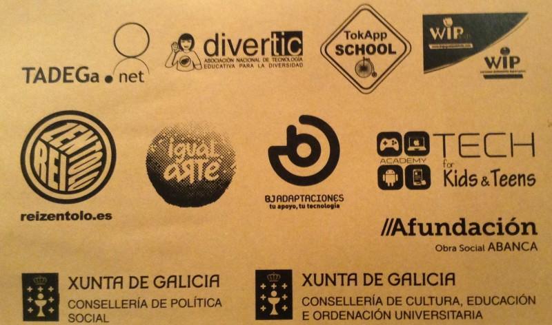 Logotipos das diversas empresas e institucións que colaboraron no congreso e a quen lles queremos testemuñar o noso agradecemento.