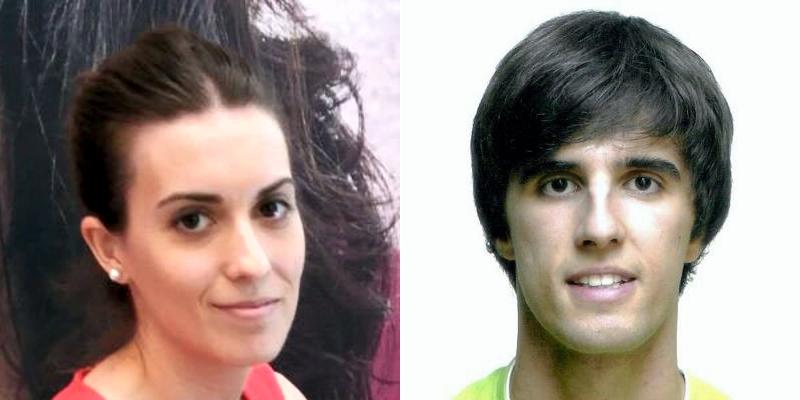 Jonathan Juncal y Silvia García... dúas promesas de futuro.