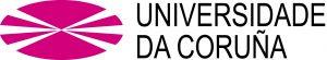 Logotipo da UDC (Universidade da Coruña).