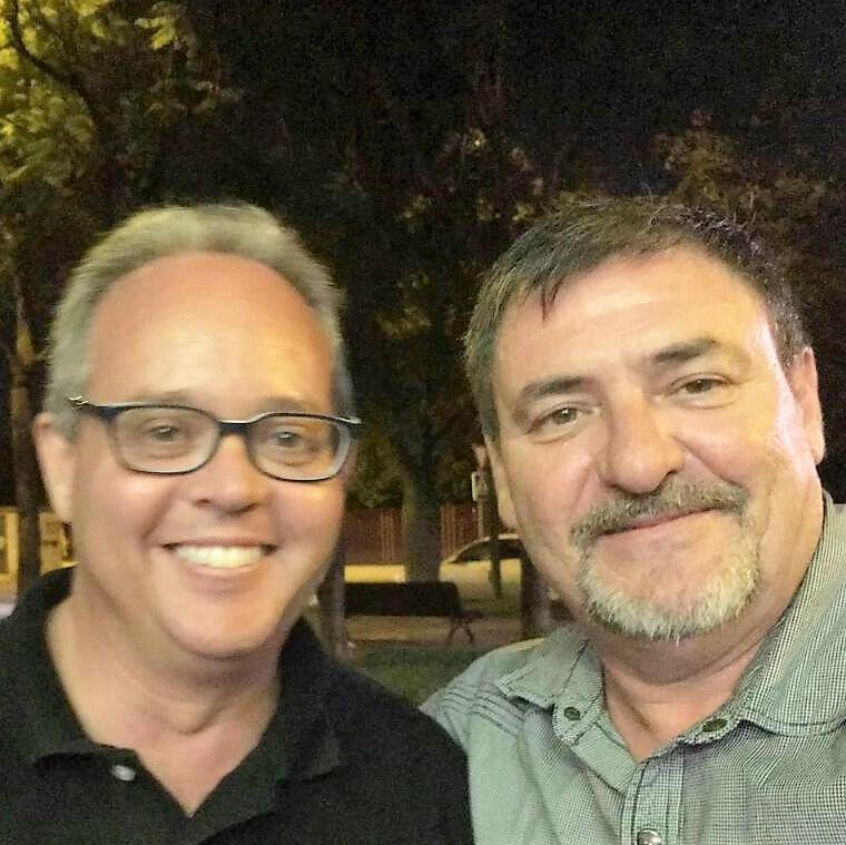 Un par de ases: Fco. Javier Soto Pérez e Manuel Gómez Villa.