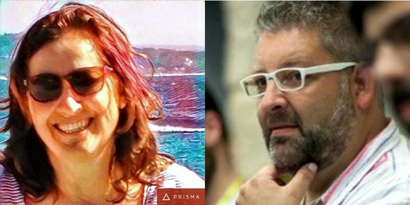 Paz Freire e Felo Couto.