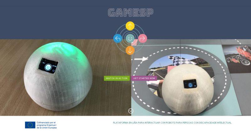 GAMESP: Robótica para a inclusión