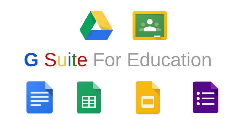 Logotipo de Google Suite for Education.