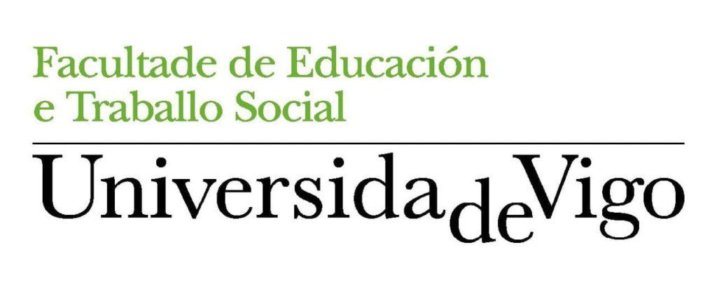 Logotipo da Facultade de Educación e Traballo Social da uVigo.